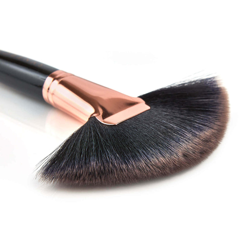 Black Rose fan brush - 001