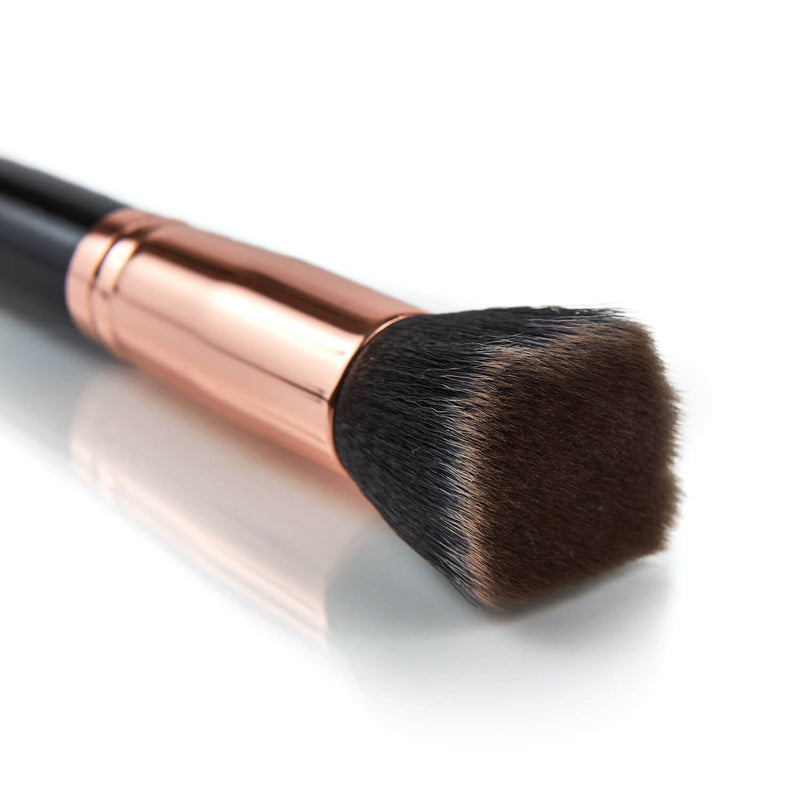 Black Rose flat head foundation brush - 004