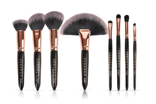 8 piece Black Rose brush set