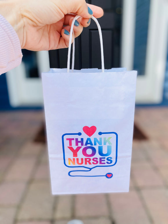 Nurse Appreciation Snack Bag- small