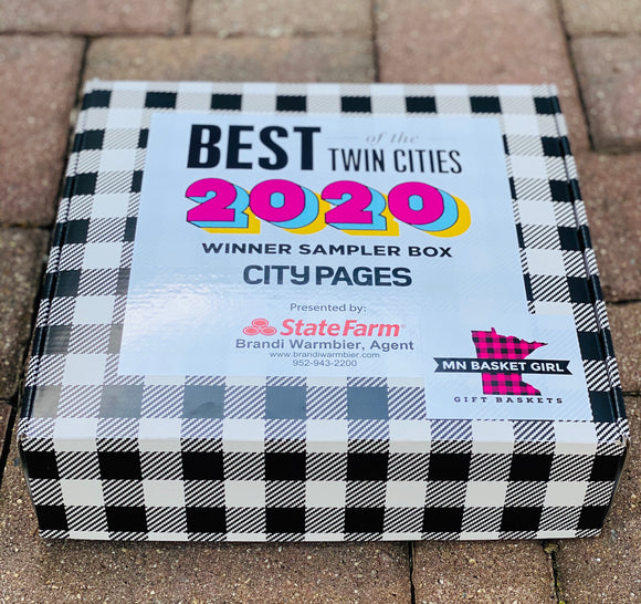 "City Pages Best of Sampler Box: Experience some of THE BEST delivered straight to your front door! *Click ""full details"" below."