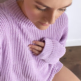 Mama - Ribbed Jumpers (Lilac & Cocoa)