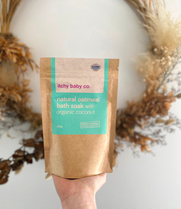 Natural Oatmeal Bath Soak with Organic Coconut
