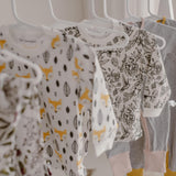 Pyjama Top | Fox Print and Hummingbird  (Seconds Stock)
