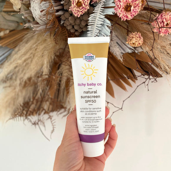 Natural Sunscreen SPF50 (Tester)