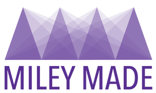 Miley Made logo in purple