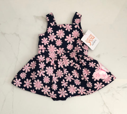 Just One You Carter's Floral Dress Size NB