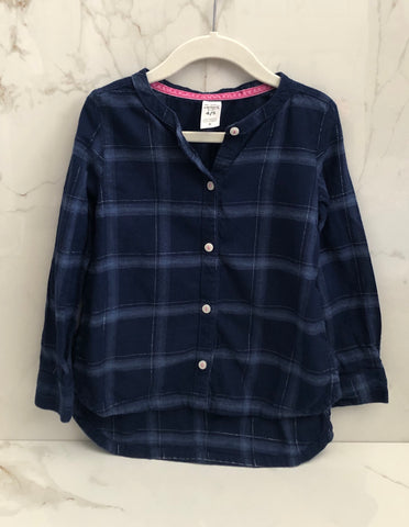 Carter's Girls Plaid Tunic Top Size 4-5