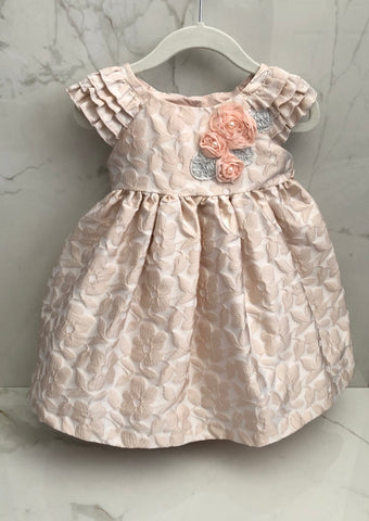 Laura Ashley Girl's Formal Floral Dress size 18M