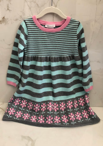 Bonnie Jean Girls Long Sleeve Sweater Dress Size 5