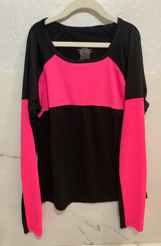 Danskin Now L/S Top Size XL 14-16