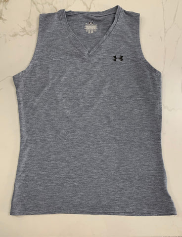 Under Armour Girl's Gray Active Tank Top size XS