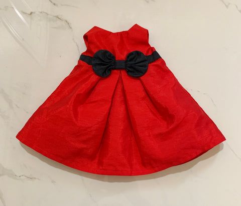 Just One You Carter's Girls Red Dress NB