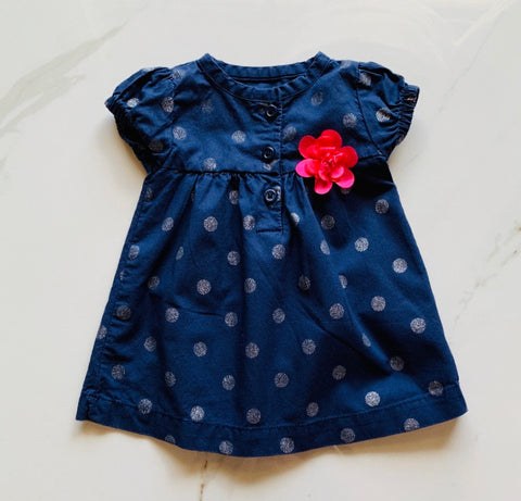 Just One You Carter's Polka Dot Dress Size NB