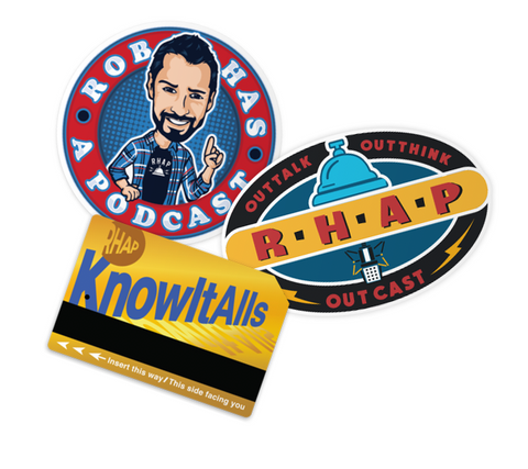 RHAP Sticker Pack