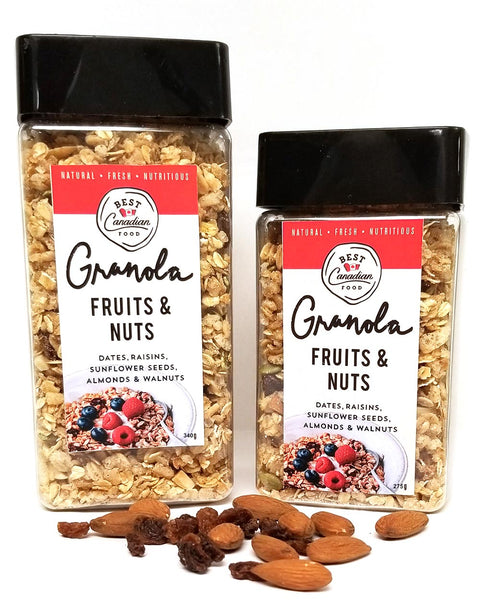 Granola selection