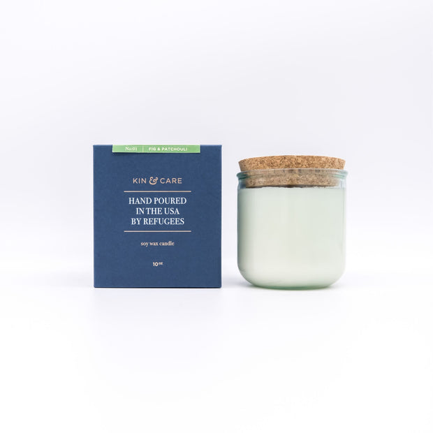 Fig & Patchouli Jar Candle