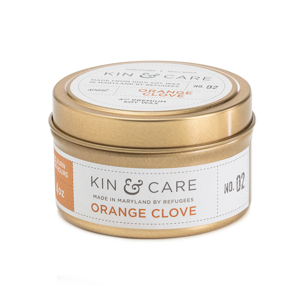 Orange Clove Gold Tin