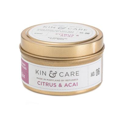 Citrus & Acai Gold Tin