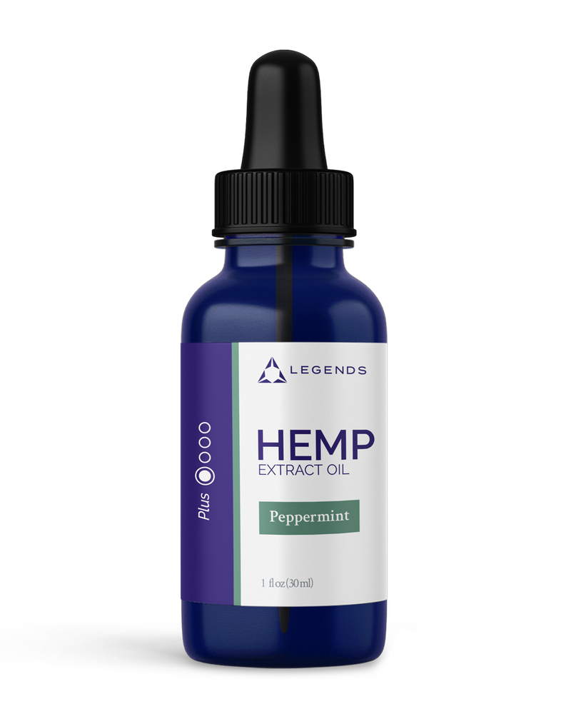 HEMP EXTRACT OIL PLUS ISOLATE