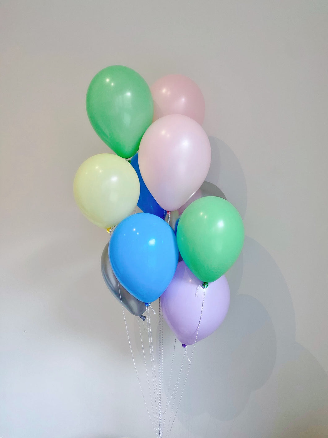Rainbow Balloon Bunch