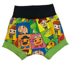 Toy Story Bunch Boy Shorties size 9-12 Months RTS  - Disney Woody Buzz Shorts Ready to Ship