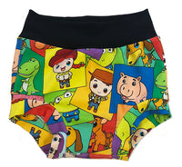 Toy Story Bunch Bummies size 12-18 Months  RTS - Disney Woody Buzz Shorts Ready to Ship