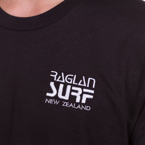 Raglan Surf Co Block Embroidered T-shirt