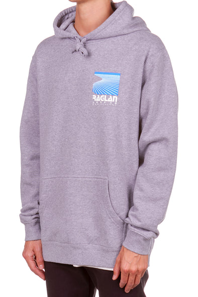 Raglan Surf Co Block Pullover Hood