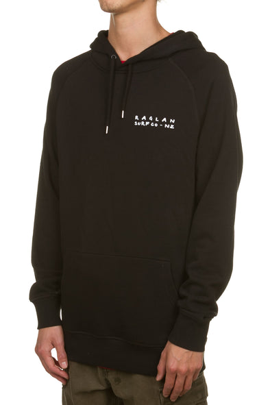 Raglan Surf Co  Graffitti Mens Pullover Hood