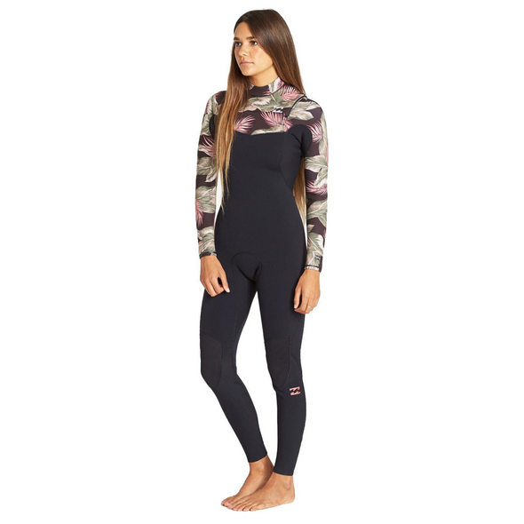 Billabong Womens Furnace Comp Chest Zip 4/3