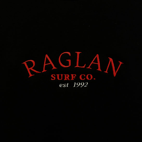 Raglan Surf Co Arch Embroidered Tee