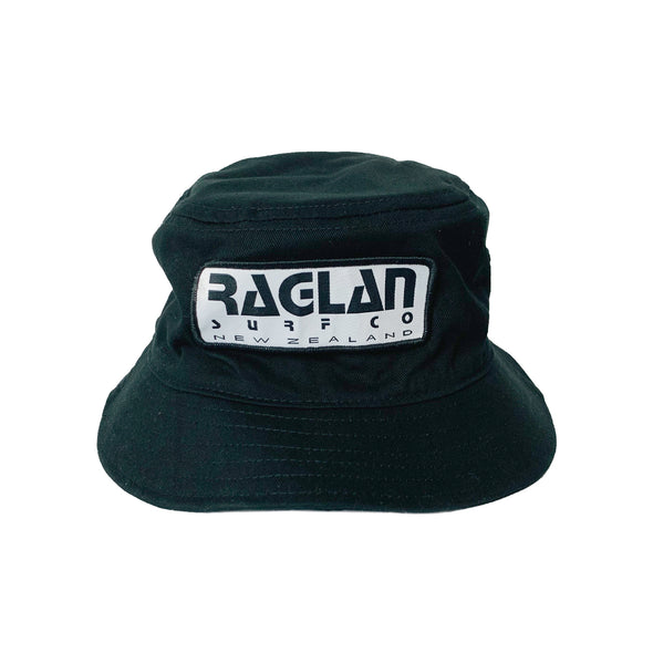 Raglan Surf Co Block Text Bucket Hat