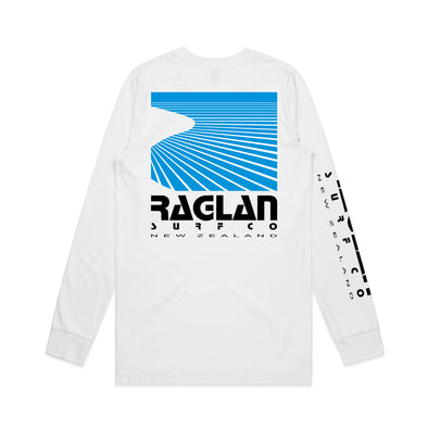 Raglan Surf Co Block Long Sleeve