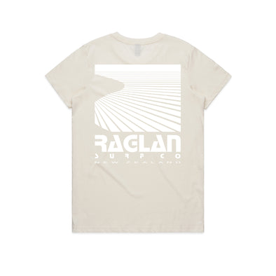 Raglan Surf Co Womens Block Tee