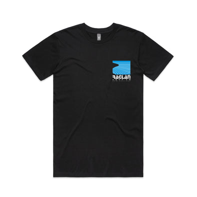 Raglan Surf Co Block T-Shirt