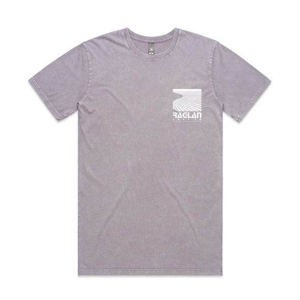 Raglan Surf Co Block Stone Wash T-Shirt