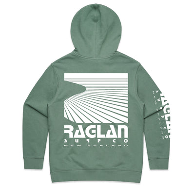 Raglan Surf Co Womens Block Pullover Hood
