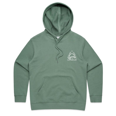 Raglan Surf Co Tri Embroidered Pullover Hood