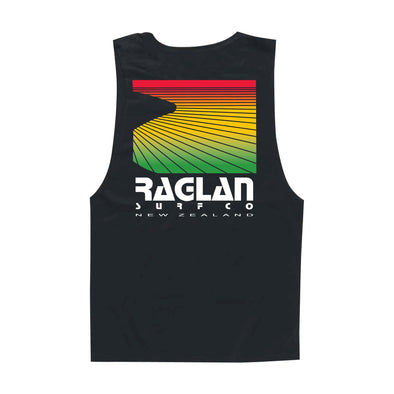 Raglan Surf Co Block Rasta Muscle