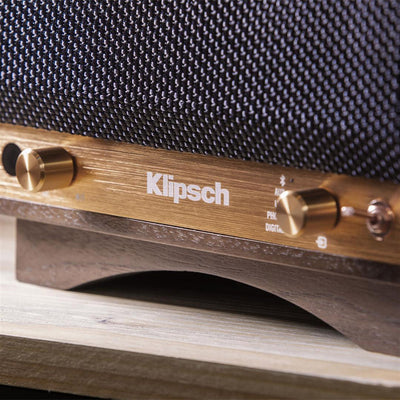 Klipsch Heritage The Sixes Wireless Active Bluetooth Speakers controls