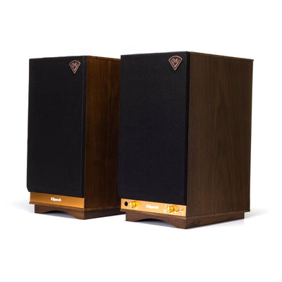 Klipsch Heritage The Sixes Wireless Active Bluetooth Speakers in walnut