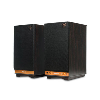 Klipsch Heritage The Sixes Wireless Active Bluetooth Speakers in ebony