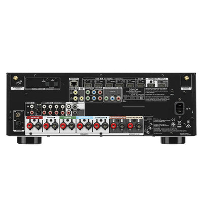 DENON AVR-X2700H rear panel