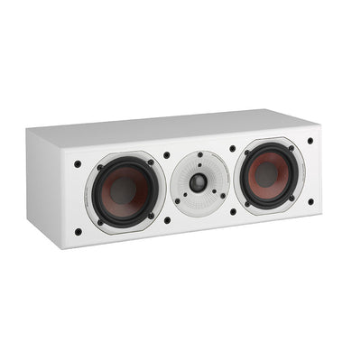 Dali Spektor Vokal centre speaker in white with grille off