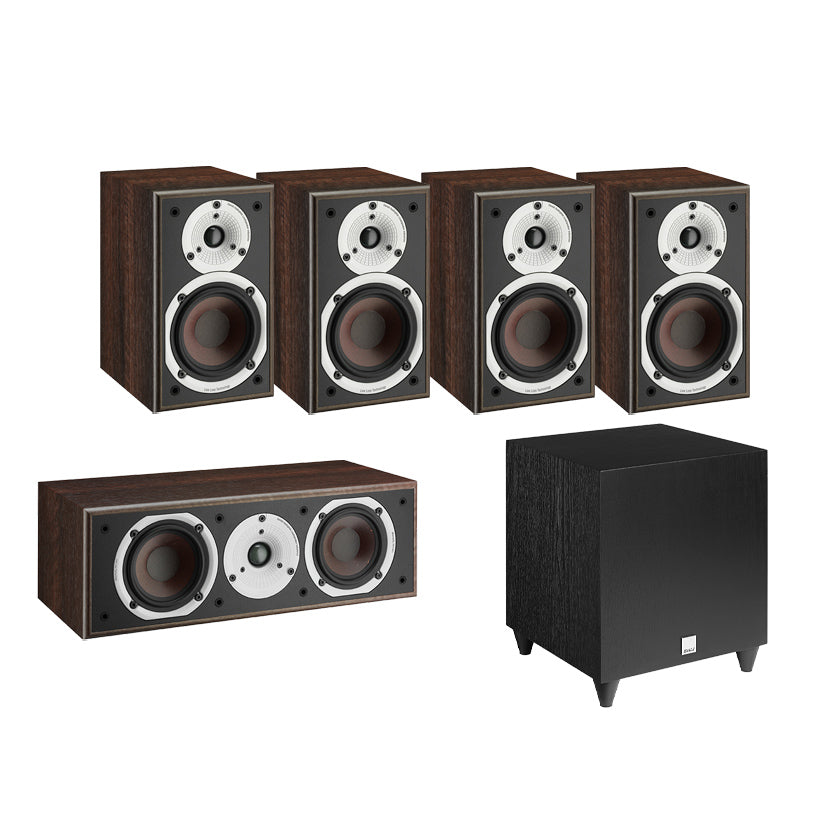Dali Spektor 1 5.1 Speaker Package with C-8 D Subwoofer