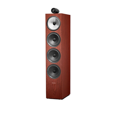 Bowers & Wilkins 702 S2 Floorstanding Speakers Rosenut