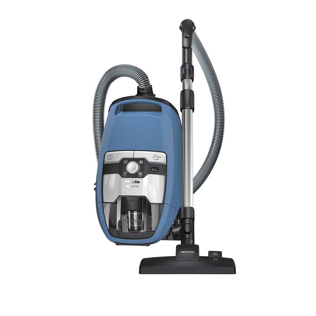 Miele Blizzard CX1 Blue PowerLine Bagless Cylinder Vacuum - SKRF3