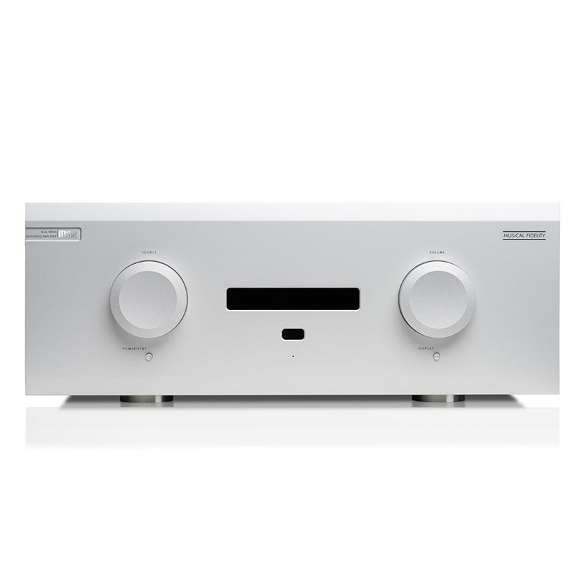 Musical Fidelity M8xi integrated amplifier in silver