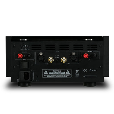 Quad Artera Stereo Power Amplifier back panel